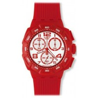 SWATCH SUIR400 HOT CHILI